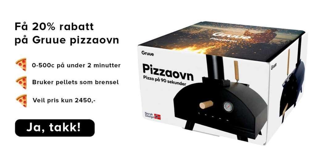 Gruue beste vedfyrte pizzaovn beste pizzaovn norsk pizzaovn gruue grue